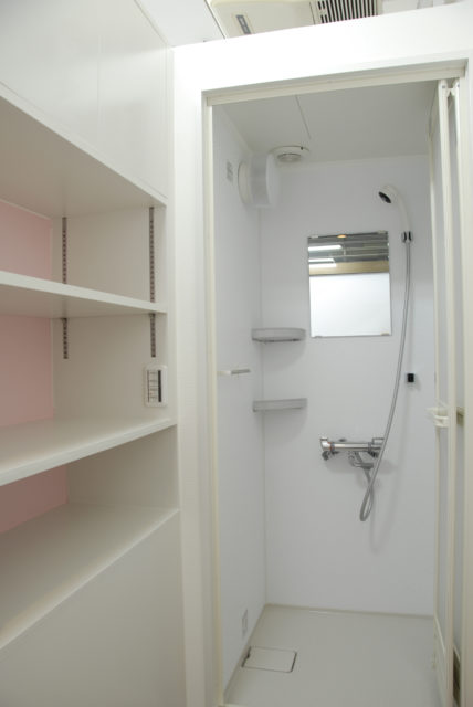 Women's shower room