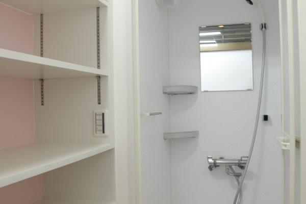 Women's shower room