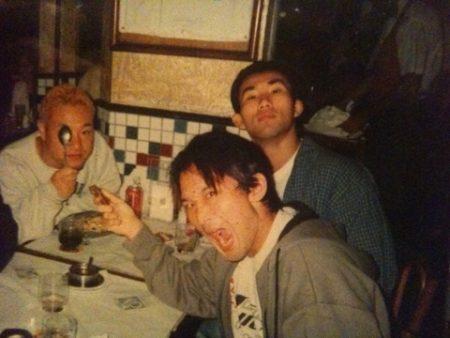 若かりし頃の中田理事長、早川総代表、僕です。 (2001年頃?のブラジルにて)